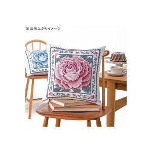 オリムパス クロス・ステッチししゅうキット 美しい花たち クッション レッドローズ 6057(オフホワイト)【ネコポス不可】【A】【キャンセル・返品不可】|guruguru-cosme