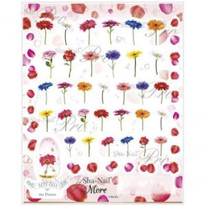 【ネコポス対応】写ネイル ネイルシール Sha-Nailmore The Flower MTF-001[M便 1/1]【A】【キャンセル・返品不可】|guruguru-cosme