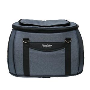 ファンタジーワールド スイートハート リュックタイプ バッグ単品 デニム SHB-216DM (ペットカート用バッグ)【ネコポス不可】|guruguru-cosme