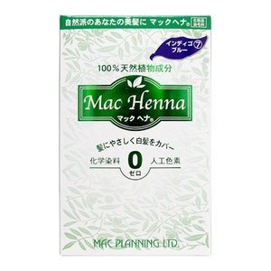 マックプランニング マックヘナ ハーバルヘアトリートメント #インディゴブルー (トリートメント) 50g×2【ネコポス不可】|guruguru-cosme