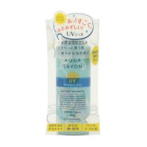 アクアシャボン UV ジェル ウォータリー シャンプーの香り 16S (日焼け止めジェル) 90g【ネコポス不可】|guruguru-cosme