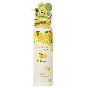 アクアシャボン トータルマルチクリーム ゆずの香り 20A 230g【ネコポス不可】|guruguru-cosme
