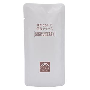 松山油脂 肌をうるおす保湿クリーム詰替用 45g【ネコポス不可】|guruguru-cosme