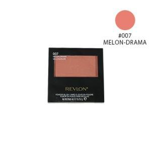 【ネコポス対応】レブロン パウダー ブラッシュ #007 MELON DRAMA (チーク) 5g [M便 1/1]|guruguru-cosme