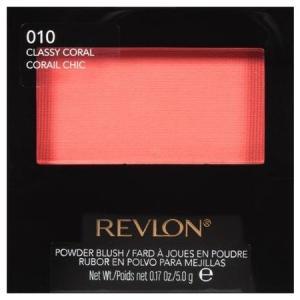 【ネコポス対応】レブロン パウダー ブラッシュ #010 CLASSY CORAL (チーク) 5g [M便 1/1]|guruguru-cosme