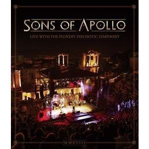 輸入盤 SONS OF APOLLO / LIVE WITH THE PLOVDIV PSYCHOTIC SYMPHONY [BLU-RAY]|guruguru