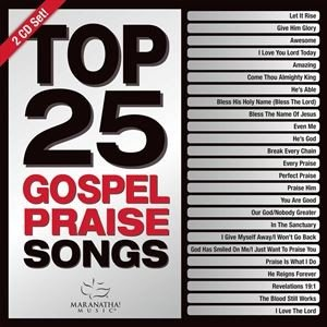 輸入盤 MARANATHA! MUSIC / TOP 25 GOSPEL PRAISE SONGS (GREEN) [2CD]