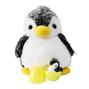 オーロラワールド アクアキッズ ニュー親子ペンギン (ぬいぐるみ) guruguru
