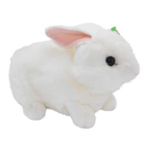 オーロラワールド ウサギの親子 M <親> (ぬいぐるみ) guruguru