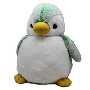 オーロラワールド パウダーキッズ ペンギン L グリーン (ぬいぐるみ) guruguru