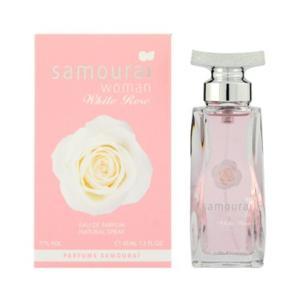 アランドロン サムライウーマン ホワイトローズ オードパルファム (女性用香水) 40ml|guruguru