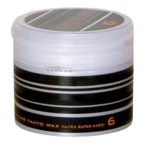 ナカノ タント N ワックス 6 ウルトラ スーパー ハード (ヘアワックス) 90g|guruguru
