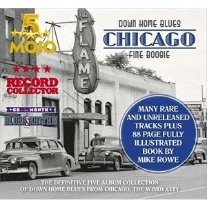 輸入盤 VARIOUS / DOWN HOME BLUES: CHICAGO FINE BOOGIE [5CD]
