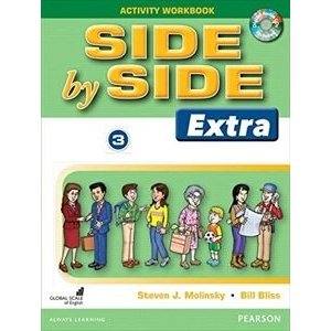 Side by Side Level 3 Extra Ed.: Activity WB w/CDs|guruguru