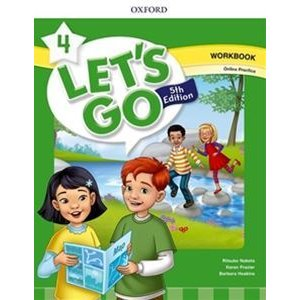 Let's Go 5/E Level 4 Workbook with Online Pack
