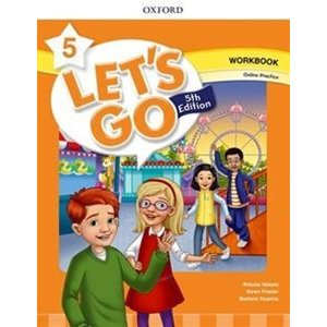 Let's Go 5/E Level 5 Workbook with Online Pack