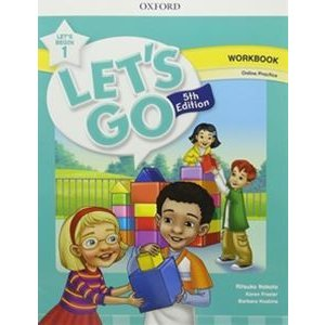 Let's Go 5/E Let's Begin 1 Workbook with Online Pa...