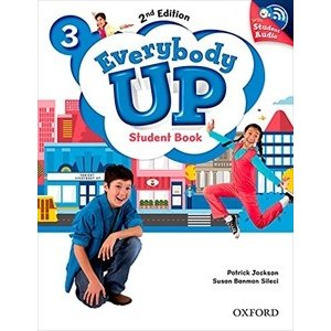 Everybody Up 2nd Edition Level 3 Student Book with Audio CD Pack|guruguru