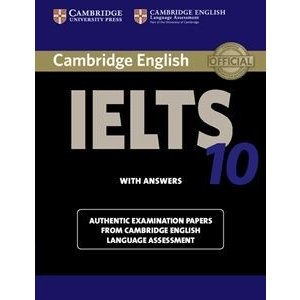 Cambridge IELTS 10 Student's Book with Answersの商品画像|ナビ