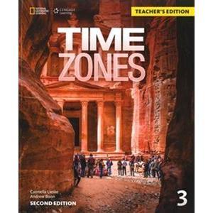 Time Zones 2nd Edition 3 Teacher's Edition|guruguru