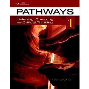 Pathways: Listening/Speaking Book 1 Student Book with Online Workbook Access Code +CD