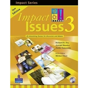 Impact Issues 2nd Edition Level 3 Student Book with CD