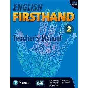 種別:グッズ Teacher's Manual 【輸入盤】 English Firsthand 5t...
