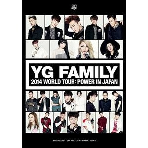 YG FAMILY WORLD TOUR 2014 -POWER- in Japan [DVD]|guruguru