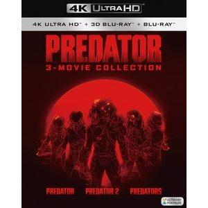 プレデター 4K ULTRA HD トリロジーBOX [Ultra HD Blu-ray]