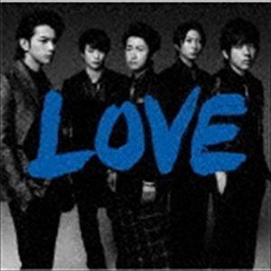嵐 / LOVE(通常盤) [CD] guruguru