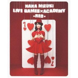 水樹奈々/NANA MIZUKI LIVE GAMES×ACADEMY-RED- [Blu-ray] guruguru