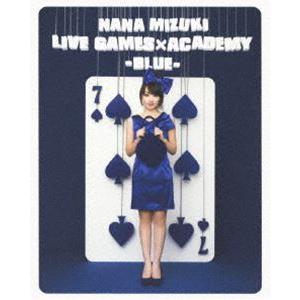 水樹奈々/NANA MIZUKI LIVE GAMES×ACADEMY-BLUE- [Blu-ray] guruguru