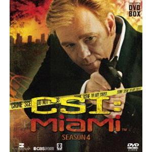 CSI:マイアミ コンパクト DVD-BOX シーズン4 [DVD]|guruguru