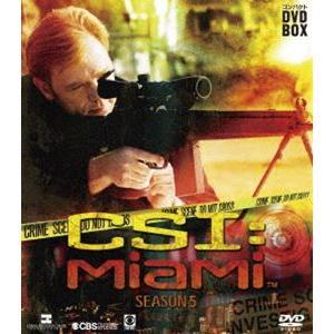 CSI:マイアミ コンパクト DVD-BOX シーズン5 [DVD]|guruguru