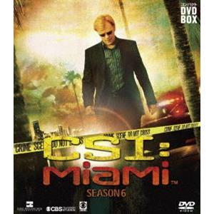 CSI:マイアミ コンパクト DVD-BOX シーズン6 [DVD]|guruguru