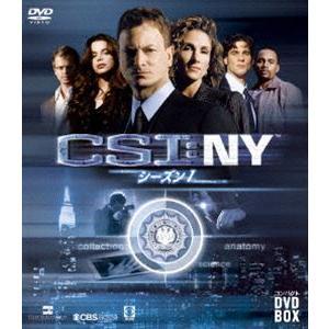 CSI:NY コンパクト DVD-BOX シーズン1 [DVD] guruguru