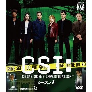 CSI:科学捜査班 コンパクト DVD-BOX シーズン1 [DVD]|guruguru