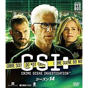 CSI:科学捜査班 コンパクト DVD-BOX シーズン14 [DVD]|guruguru