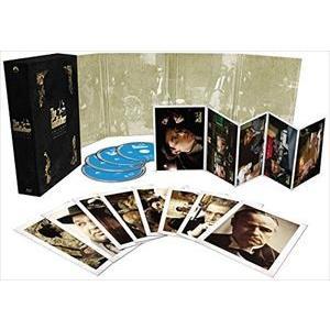 ゴッドファーザー45周年記念ブルーレイBOX TV吹替初収録特別版(初回生産限定) [Blu-ray]|guruguru