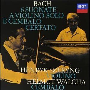 J.S.バッハ:ヴァイオリンとチェンバロのためのソナタ全曲 [CD]