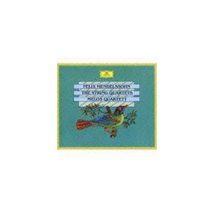 メロス弦楽四重奏団 / メンデルスゾーン 弦楽四重奏曲全集 [CD]