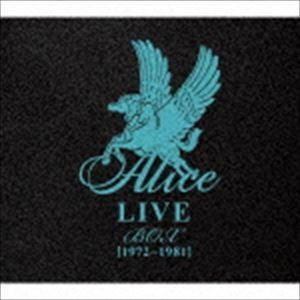 アリス / ALICE LIVE BOX [1972〜1981](限定盤/12CD+DVD) [CD...