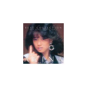 中森明菜 / ベスト・コレクション 〜ラブ・ソングス&ポップ・ソングス〜(通常レギュラープライス盤) [CD]|guruguru