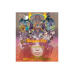 Superfly/GIVE ME TEN!!!!!(通常盤) [Blu-ray]|guruguru