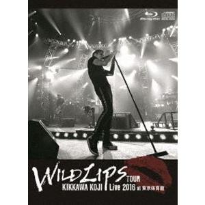 """吉川晃司/KIKKAWA KOJI Live 2016""""WILD LIPS""""TOUR at 東京体育館(初回限定盤) [Blu-ray] guruguru"""