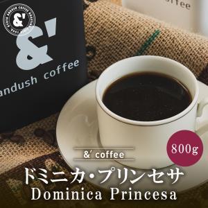コーヒー豆 送料無料 珈琲豆 おてがるパック ドミニカ プリンセサ 800g 約80杯分 コーヒー 豆 焙煎後すぐ発送 中煎り gurumekan