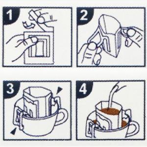 NEW  コーヒー豆 送料無料 珈琲豆 かんたん便利ワンタッチドリップバッグ20枚付 4種で200g 約20杯分 コーヒー 豆 焙煎後すぐ発送|gurumekan|05