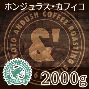 通常価格より10%OFF 送料無料 コーヒー豆 & ホンジュラス 2000g コーヒー 豆 焙煎後すぐ発送 中煎り|gurumekan