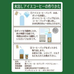 送料無料  水出しアイス珈琲バッグセット フェアトレード アイスコーヒー 約5.4リットル分 gurumekan 02