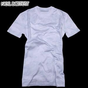 ニールバレット (NeilBarrett)メンズ クルーネック 半袖Tシャツ マルチプリント PBJT61 A519S 1458  61S